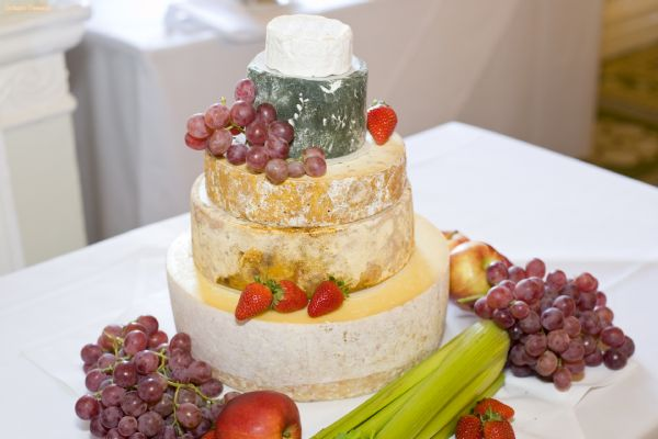 Cheese Wedding Cakes Derbyshire