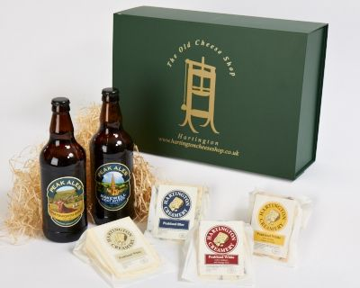 Peakland Blue, Peakland White, Peakland White with Cranberry & Orange and Peakland White with Smoked Tomato & Garlic.