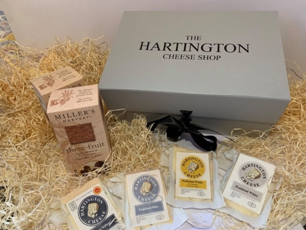 <p>Derbyshire Cheese Hamper | Peakland cheese | Hartington Cheese Shop</p>