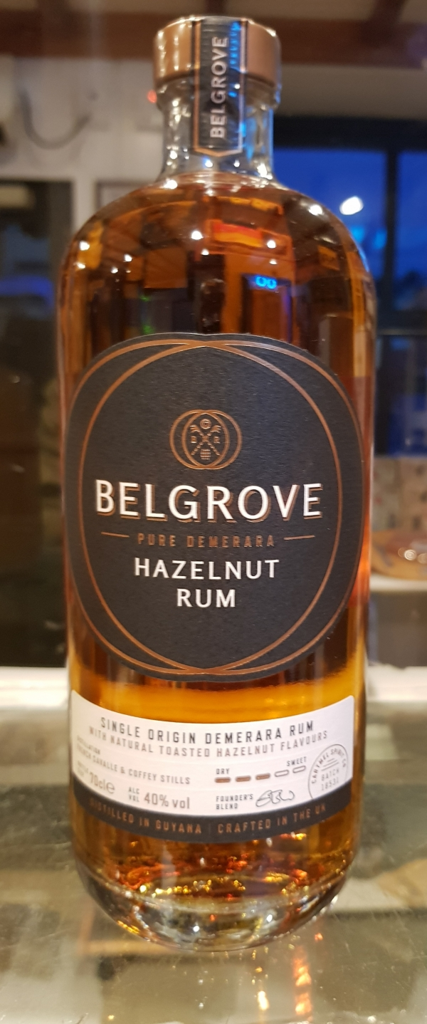 <p>Rum distilled from pure Demerara cane with nautral toasted hazelnut flavours.<br />Perfect in cocktails or simply over ice.</p><p>ABV 40%</p>