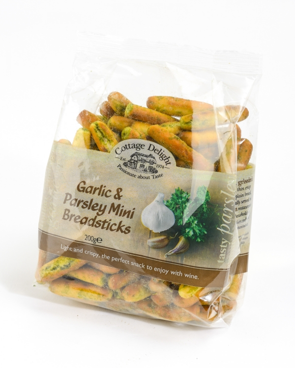 <p>Garlic &amp; Parsley Mini Breadsticks &#124; Hartington Cheese Shop</p>
