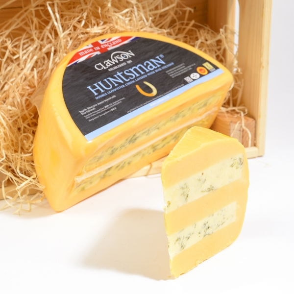 <p>Double Gloucester &#124; Blue Stilton &#124; Hartington Cheese Shop</p>