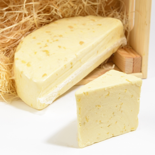<p>Creamy white Wensleydale cheese | Zesty lemon | Hartington Cheese Shop</p>