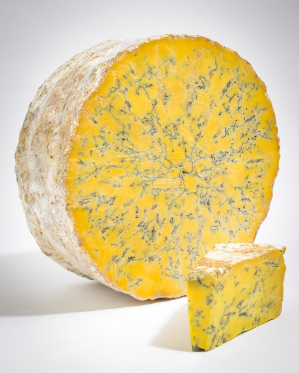 <p>Blue Shropshire &#124; creamy texture &#124; Blue Cheese &#124; Hartington Cheese Shop</p>