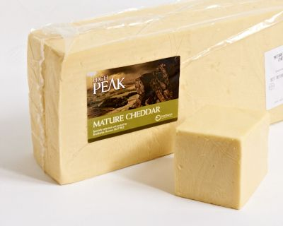 <p>This mature cheddar comes from Buxton in the High Peak' Derbyshire. It is a good all round tasty farmhouse mature block cheddar that has a variety of uses. Good quality and reasonably priced. You won't be disappointed by its flavour and will probably be surprised at how creamy it is.</p>
