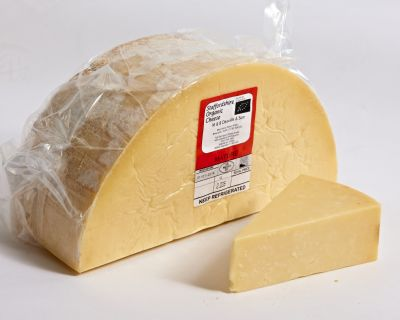 Staffordshire Organic Mature Cheddar | Hartington Cheese Shop