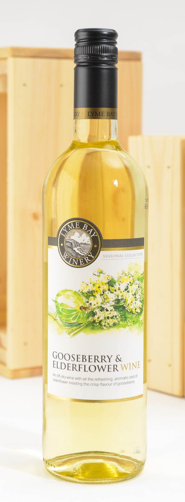 <p>Gooseberry Wine - light&sbquo; off/dry wine &#124; Hartington Cheese Shop</p>