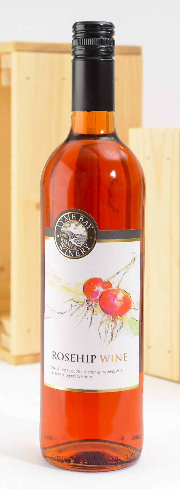 <p>Rosehip Wine - off/dry salmon pink wine &#124; Hartington Cheese Shop</p>