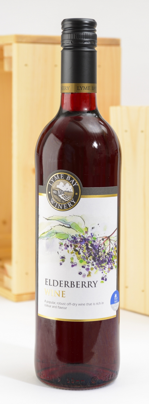 <p>Elderberry Wine - Super off/dry Wine | Hartington Cheese Shop</p>