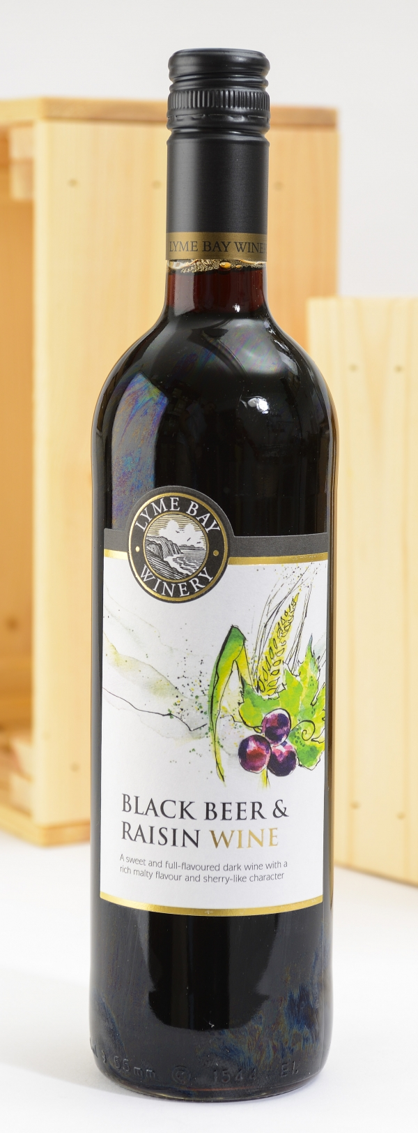 <p>Blackbeer &amp; Raisin Wine - sweet&sbquo; dark wine&sbquo; with a rich malty &#124; Hartington Cheese Shop</p>