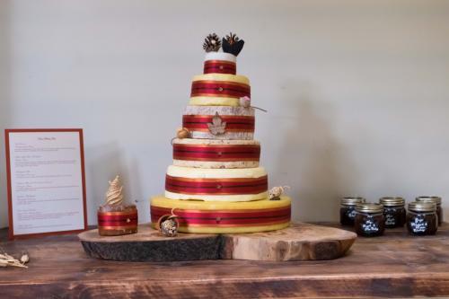 Cheese Wedding Cakes Derbyshrie Peak District
